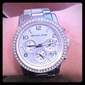 Michael Kors Silver Womens Watch MK5083